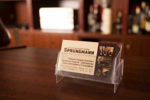 Sprungmann Bielefeld Visiten Karte